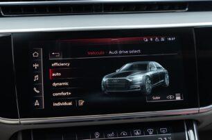 Modos de conducción Audi S8