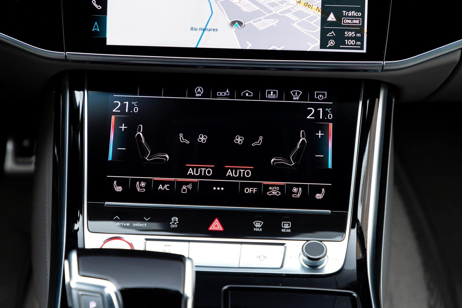 Pantalla climatizador Audi S8