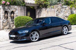 Nos ponemos al volante del Audi S8