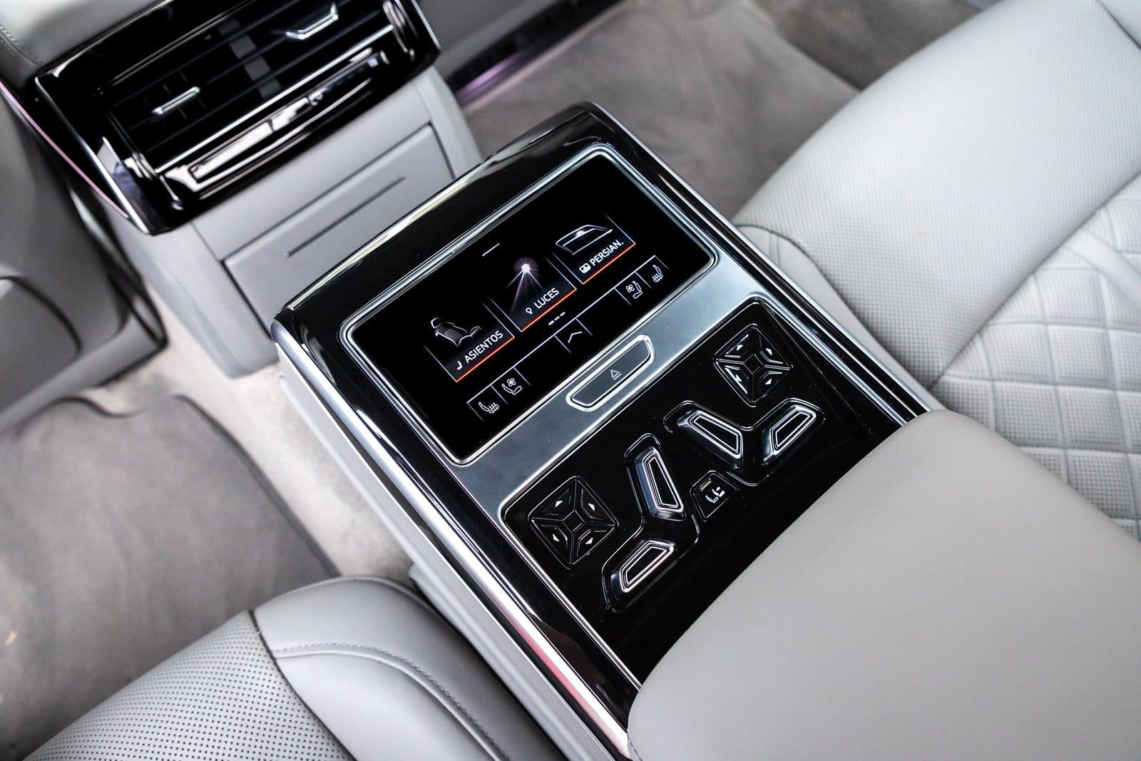 Consola central trasera Audi S8