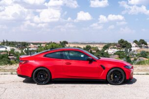 LAteral BMW M4 Competition Coupé