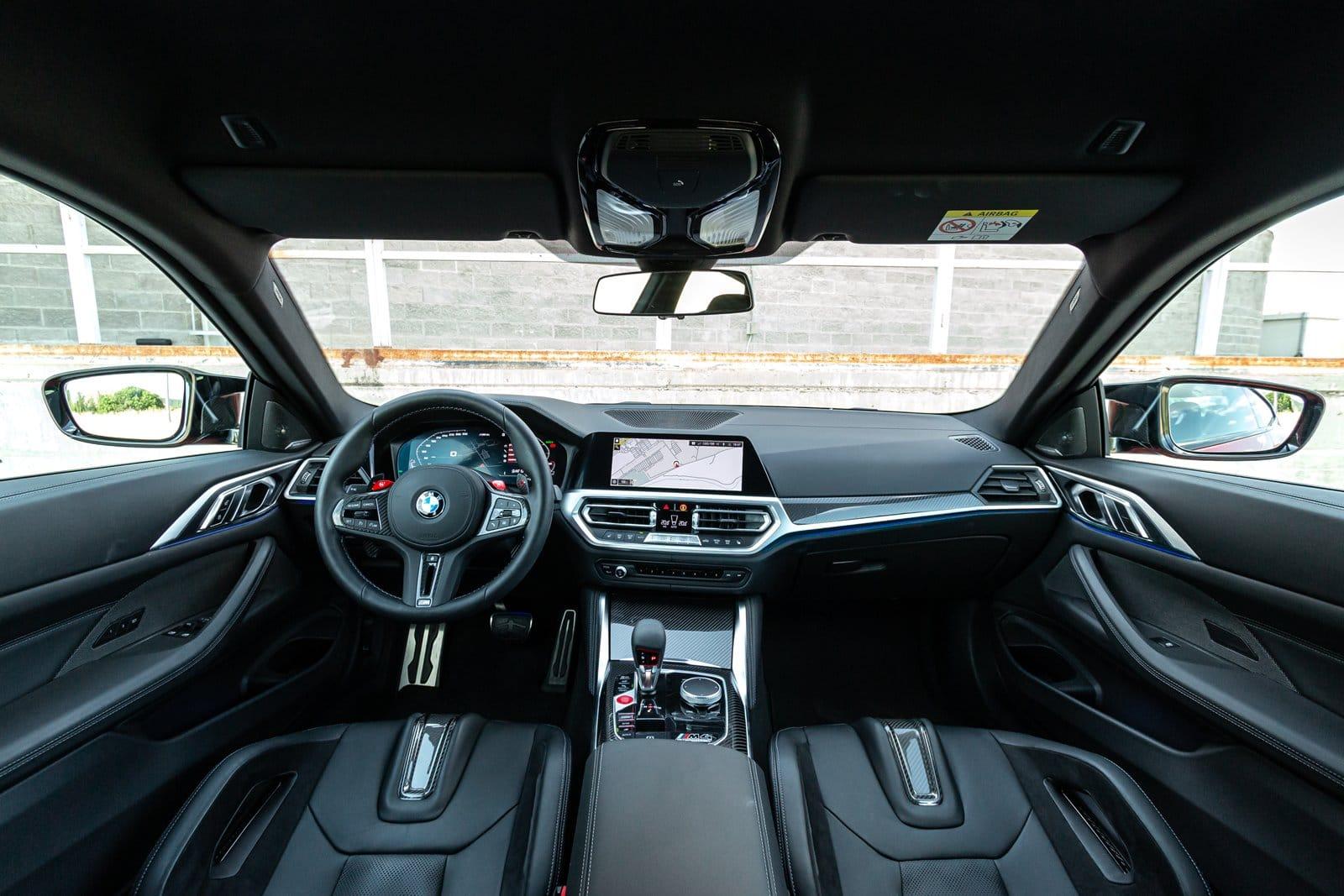 INterior BMW M4 Competition Coupé