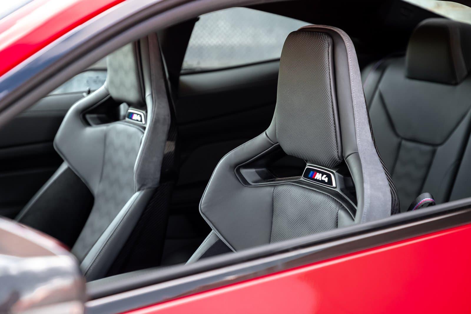 Asientos BMW M4 Competition Coupé