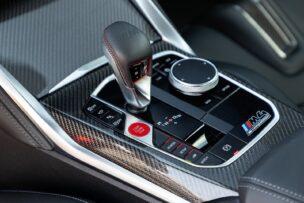 PAlanca de cambios BMW M4 Competition Coupé