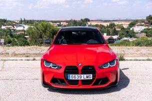 Frontal BMW M4 Competition Coupé
