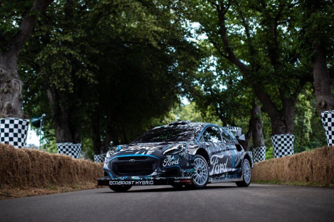 Ford Puma Rally1 WRC Prototype: primeros detalles