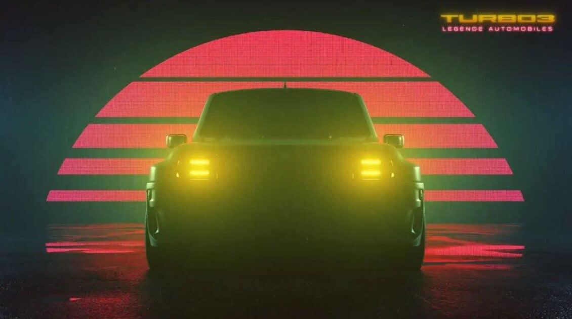 Atento porque el Renault 5 Turbo 3 está aquí y será realidad este año