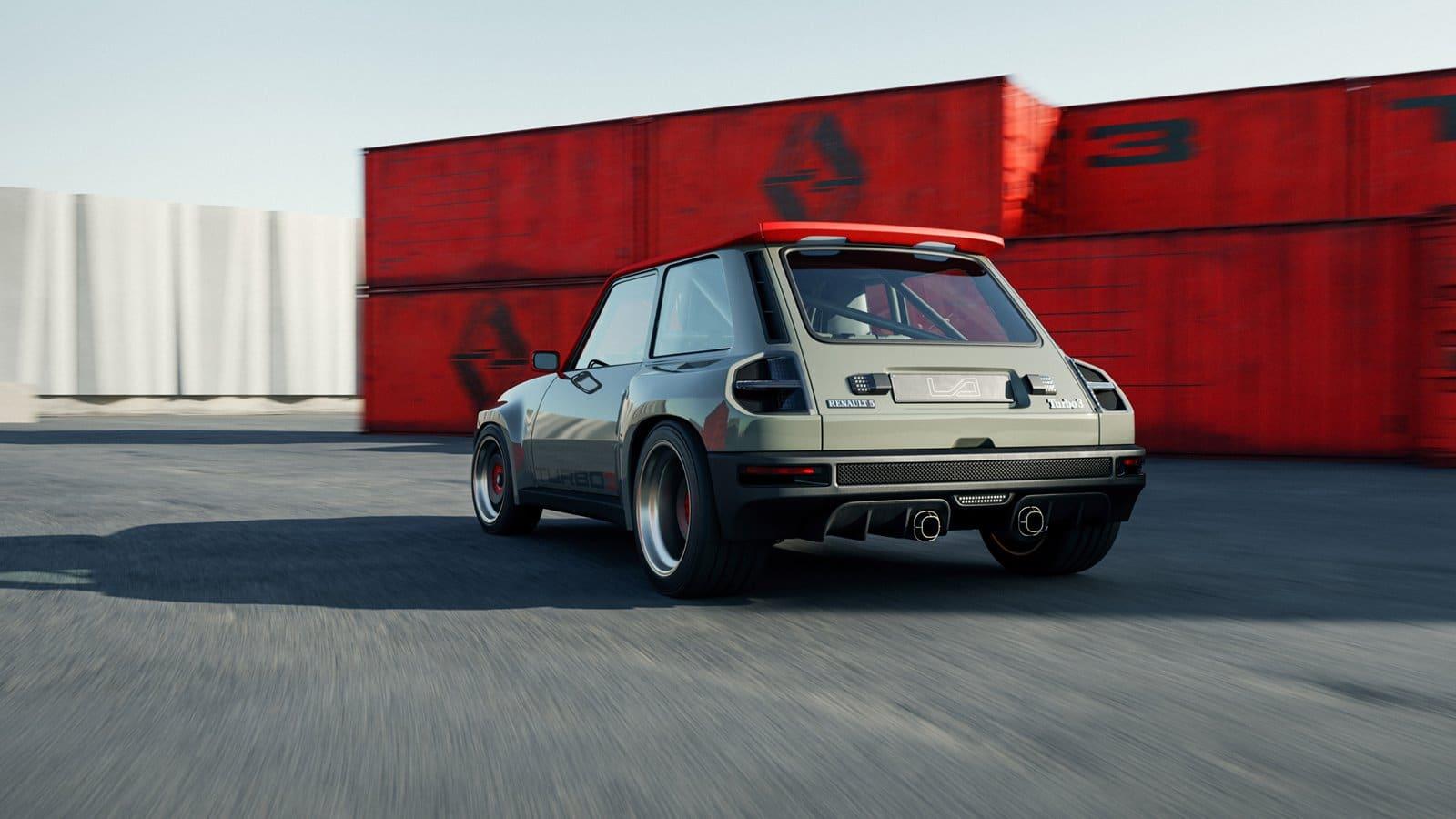 Renault 5 Turbo 3 trasera