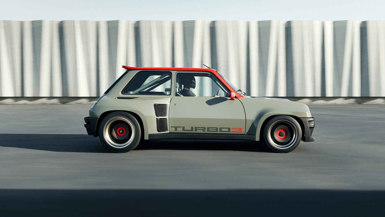 Renault 5 Turbo 3 lateral
