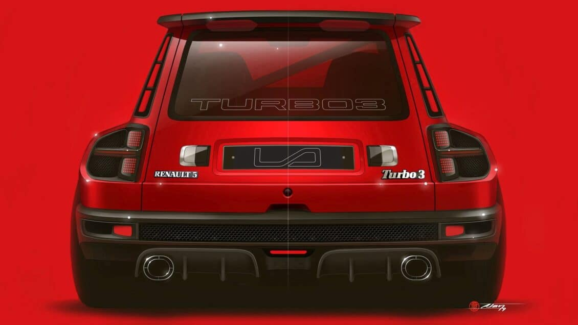 El Renault 5 Turbo 3 ya está aquí y es muy bestia: ¿Qué te parece?