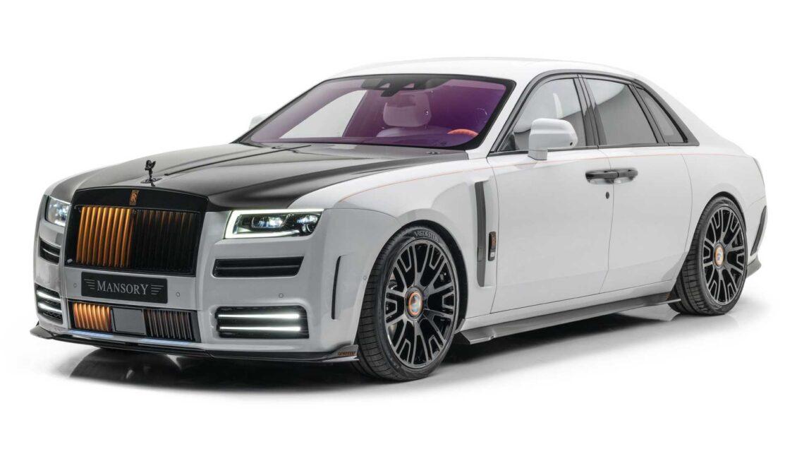 El Rolls-Royce Ghost de Mansory con más de 150 CV extra no va a dejarte indiferente