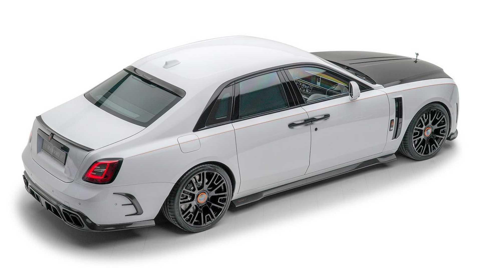 El Rolls-Royce Ghost de Mansory alcanza los 720 CV