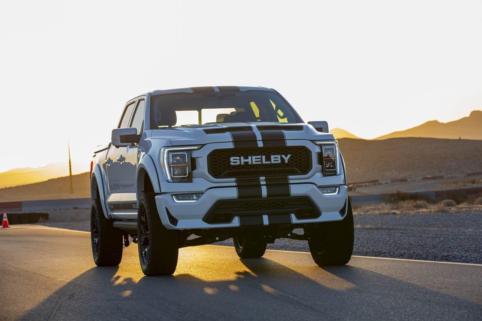 El Shelby F-150 2021 luce un aspecto imponente