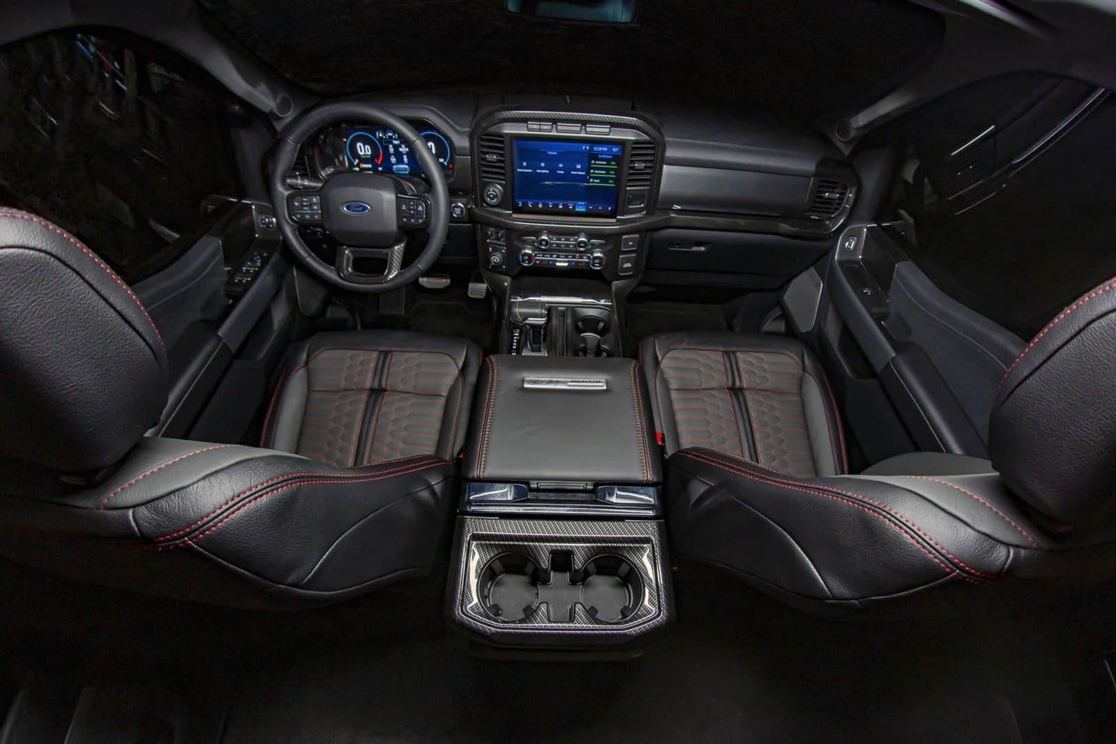 Cambios menores para el interior del Shelby F-150 2021