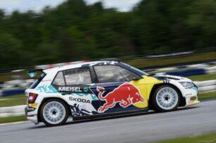 Así es el Škoda Fabia eléctrico de rallies: la base del Rally2 evo con 354 CV