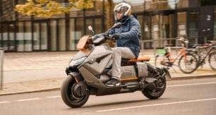 Nueva BMW CE 04, un scooter eléctrico para ciudad