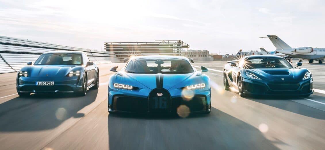 Adiós a Bugatti y hola a Bugatti Rimac, la empresa conjunta de Porsche, Bugatti y Rimac