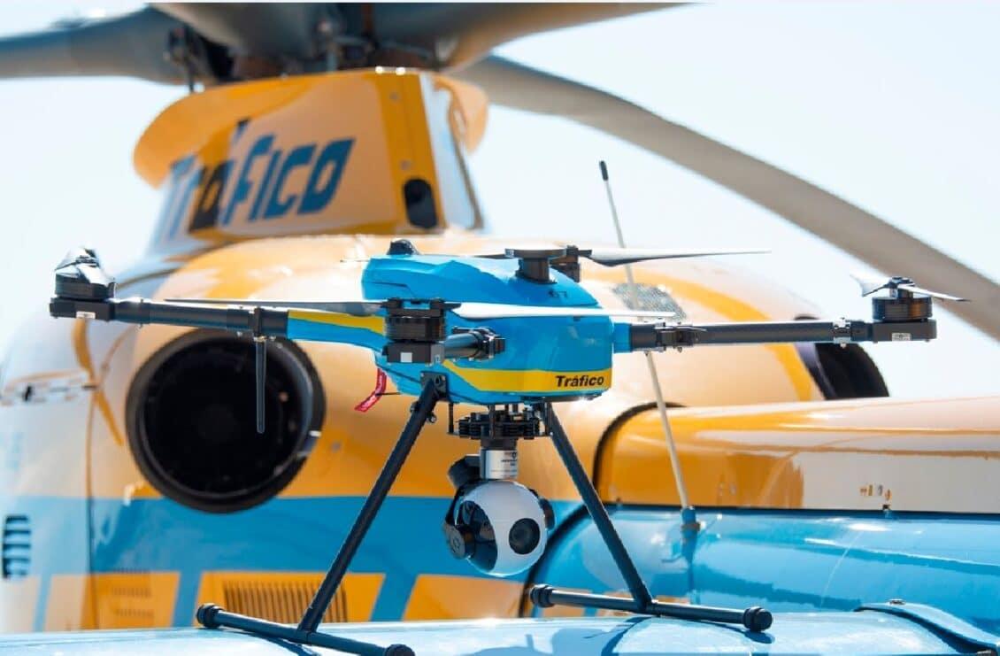 Así son los drones de la DGT: Tecnología «Made in Spain»