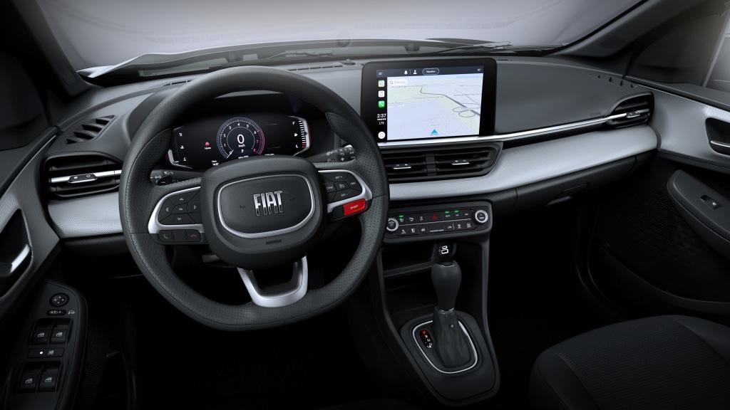 Primeras imágenes del interior del nuevo Fiat Pulse, el crossover pequeño