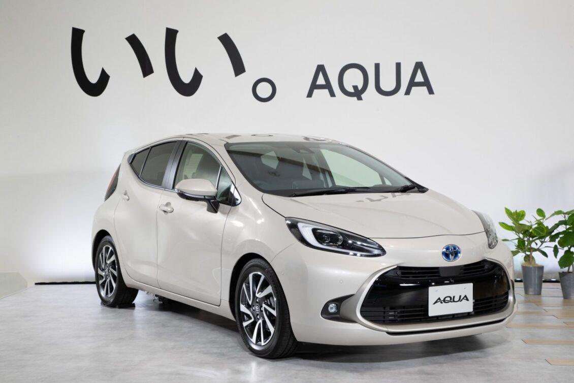 Así es la segunda generación del Toyota Aqua