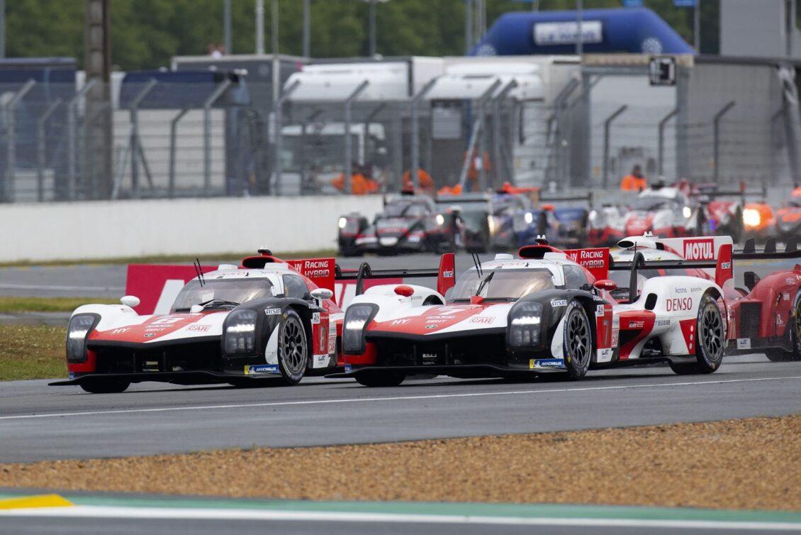 Toyota vuelve a volar en unas 24h de Le Mans plagadas de problemas