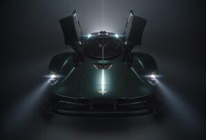 Veremos un Aston Martin Valkyrie Roadster y esta es su primera imagen: debuta este mes