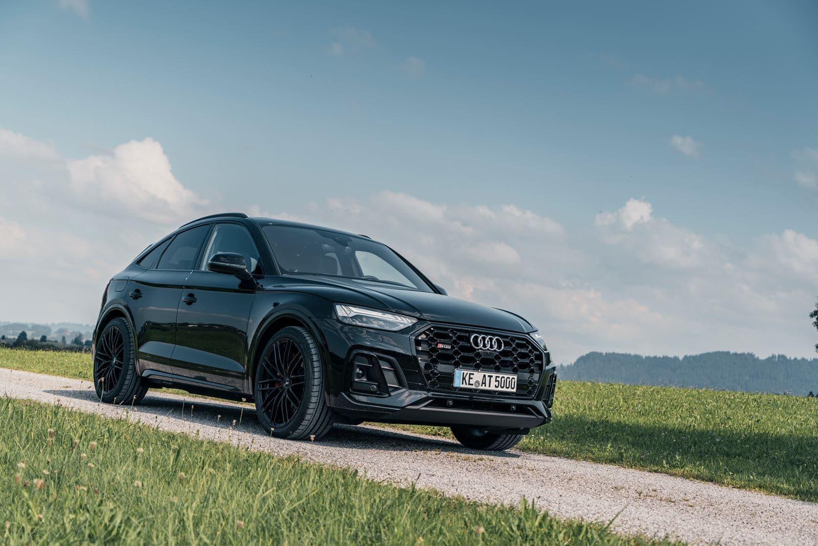 Audi SQ5 negro