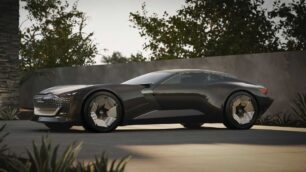 Audi Skysphere Concept: un GT eléctrico con carrocería extensible