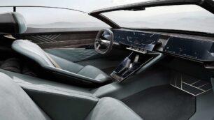 Lujo interior para el Audi Skysphere