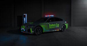 BMW i4 M50 Safety Car: el primer coche de seguridad eléctrico de BMW M en MotoGP