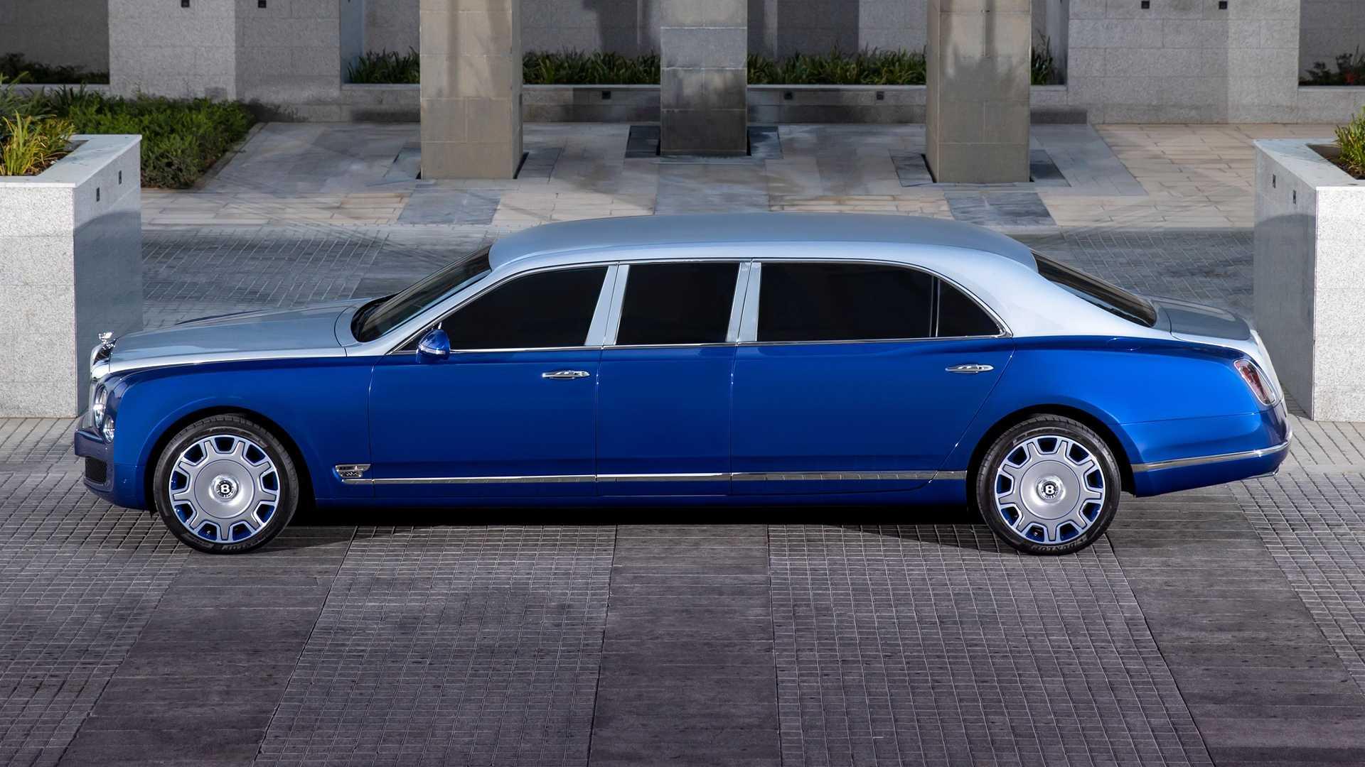 El Bentley Mulsanne Grand Limousine de Mulliner esconde una curiosa historia detrás