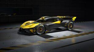 El Bugatti Bolide pasa de ser