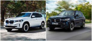 Comparación visual BMW iX3 2022: acertados cambios, pero... ¿Demasiado pronto?