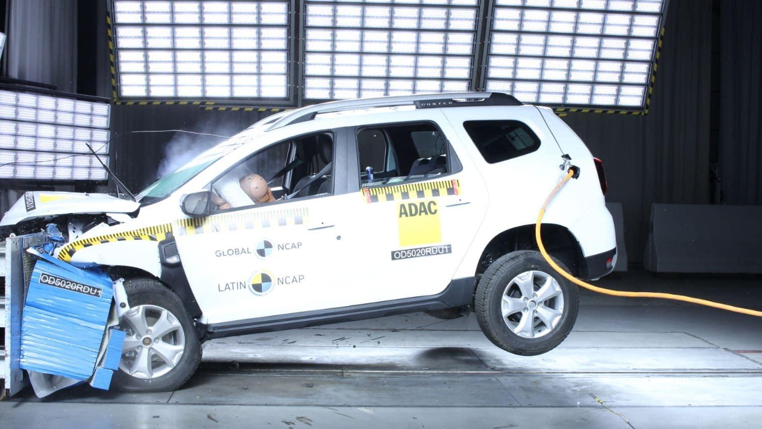 Dacia Duster con cero estrellas