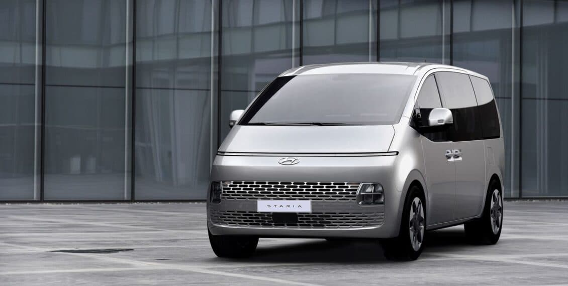 El Hyundai STARIA es el 7 plazas más molón y ojo, porque ya tiene precio en Europa