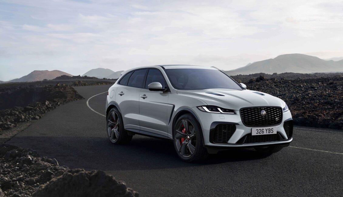 El Jaguar F-Pace 2022 recibe más tecnología y nuevo acabado R-Dynamic Black