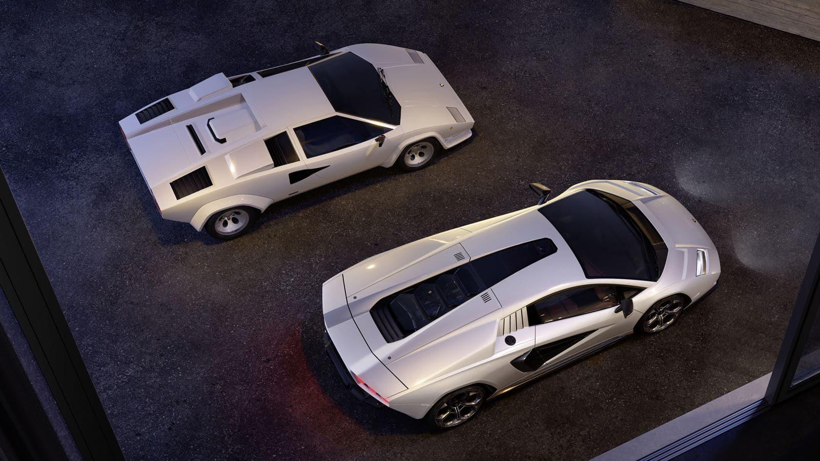 Lamborghini Countach LPI 800-4 comparativa