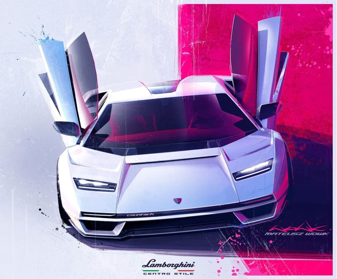 Así es el nuevo Lamborghini Countach: ¿mejorar o destrozar un buen nombre?