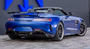 Con más de 300 CV extra, este Mercedes-AMG GT R Roadster se ríe de los Black Series