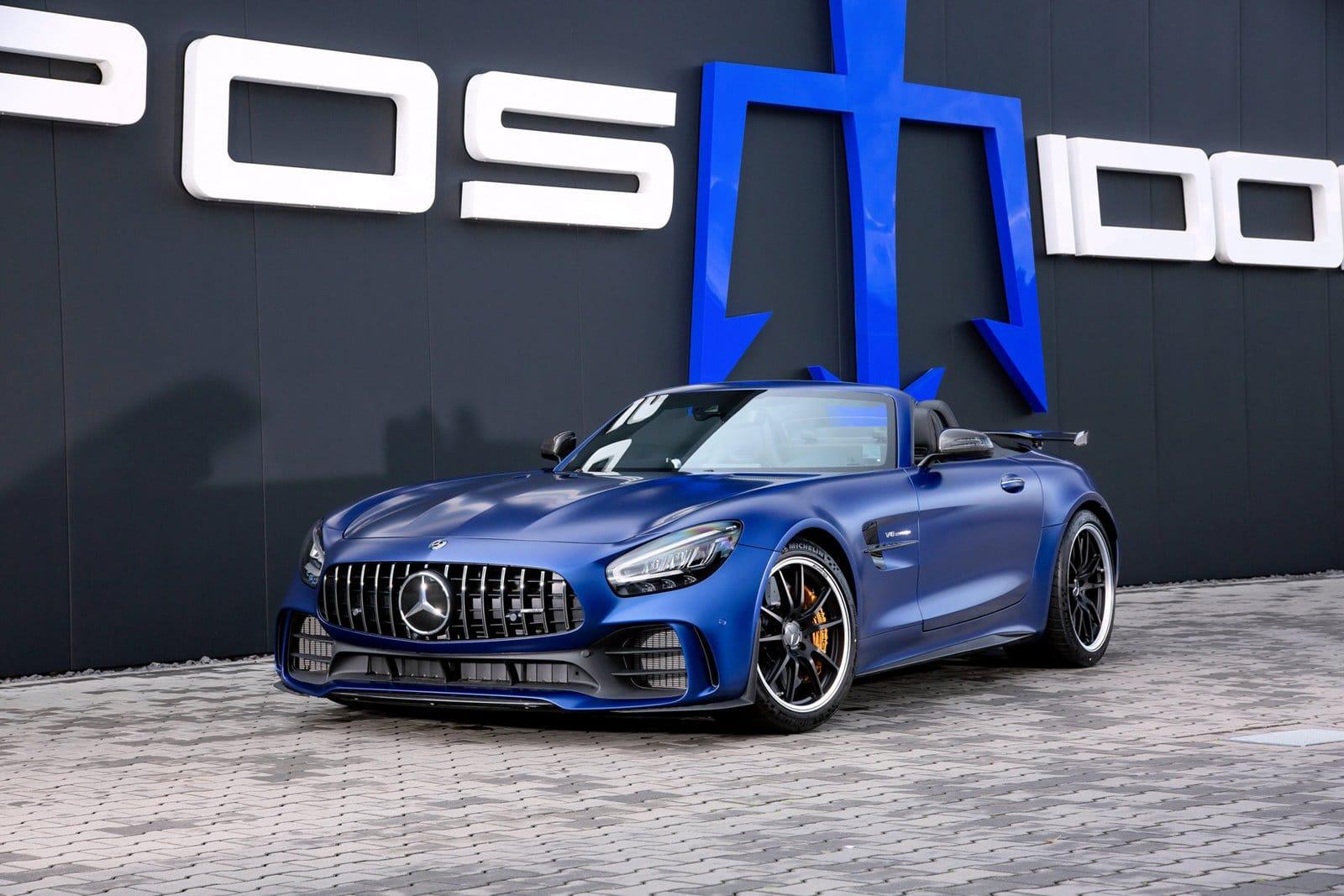 Con más de 300 CV extra, el Mercedes-AMG GT R Roadster de Posaidon se ríe de los Black Series
