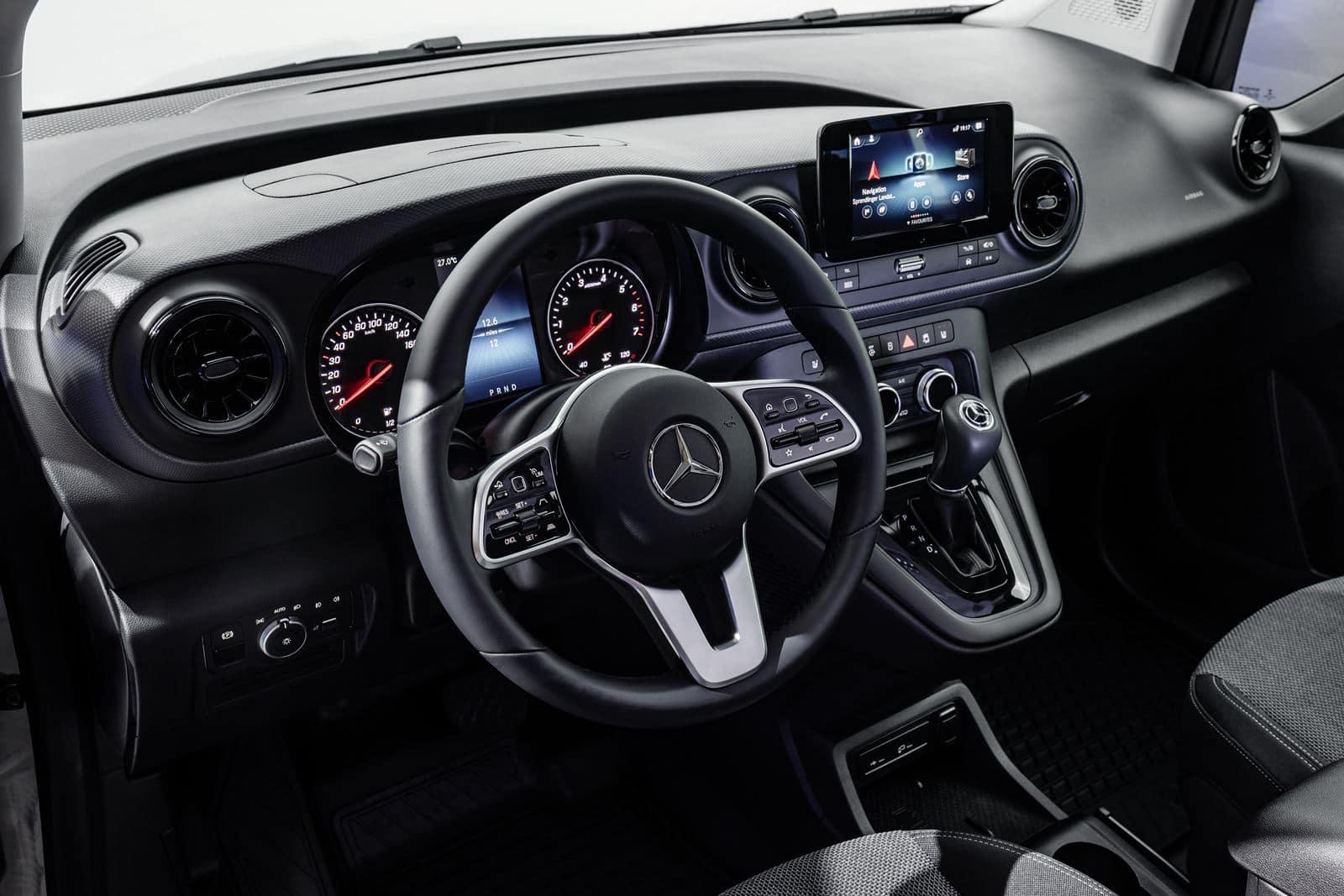 nueva Mercedes Citan interior