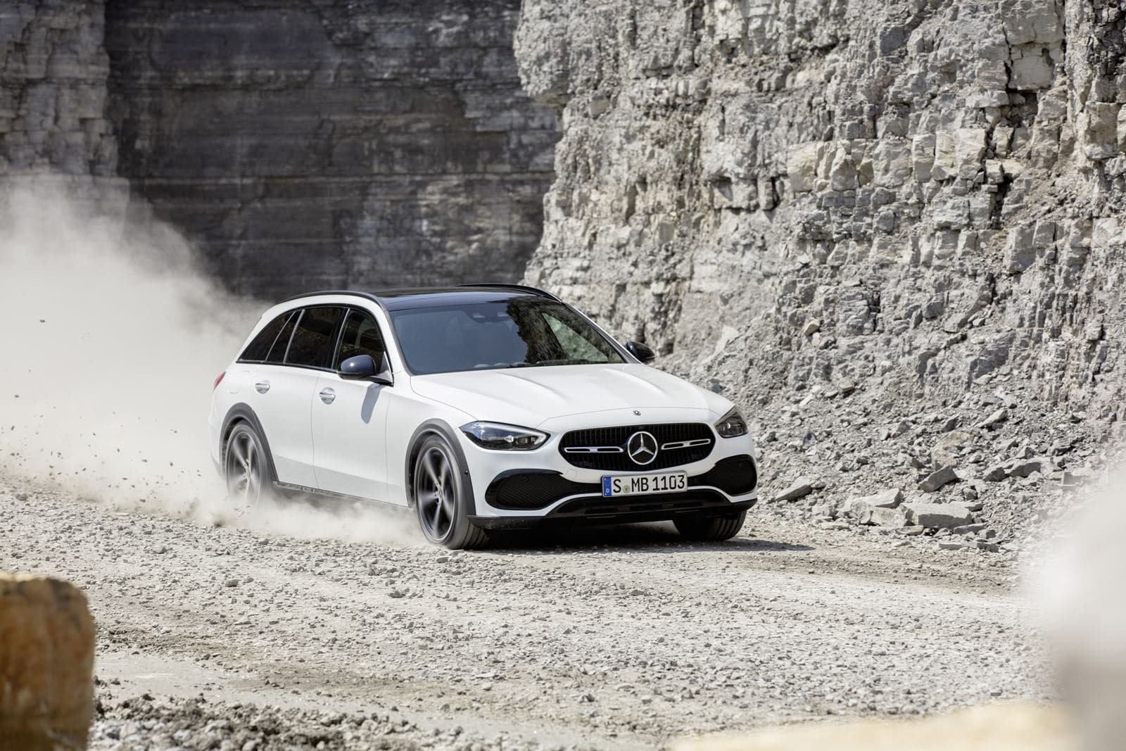 Mercedes Clase C All-Terrain blanco