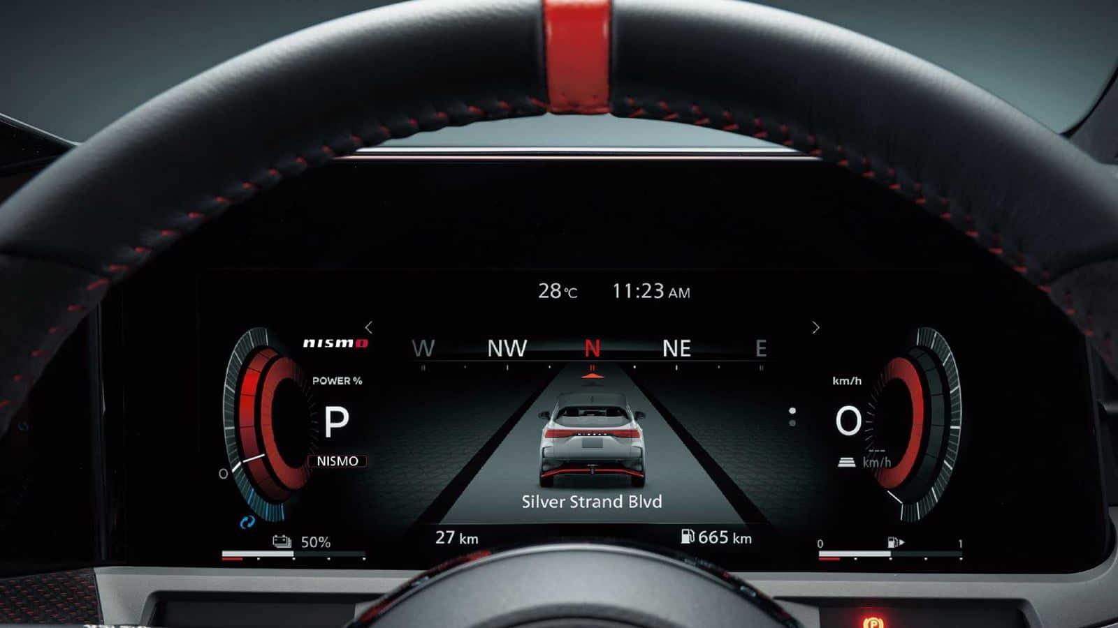 Nissan Note Aura NISMO interior