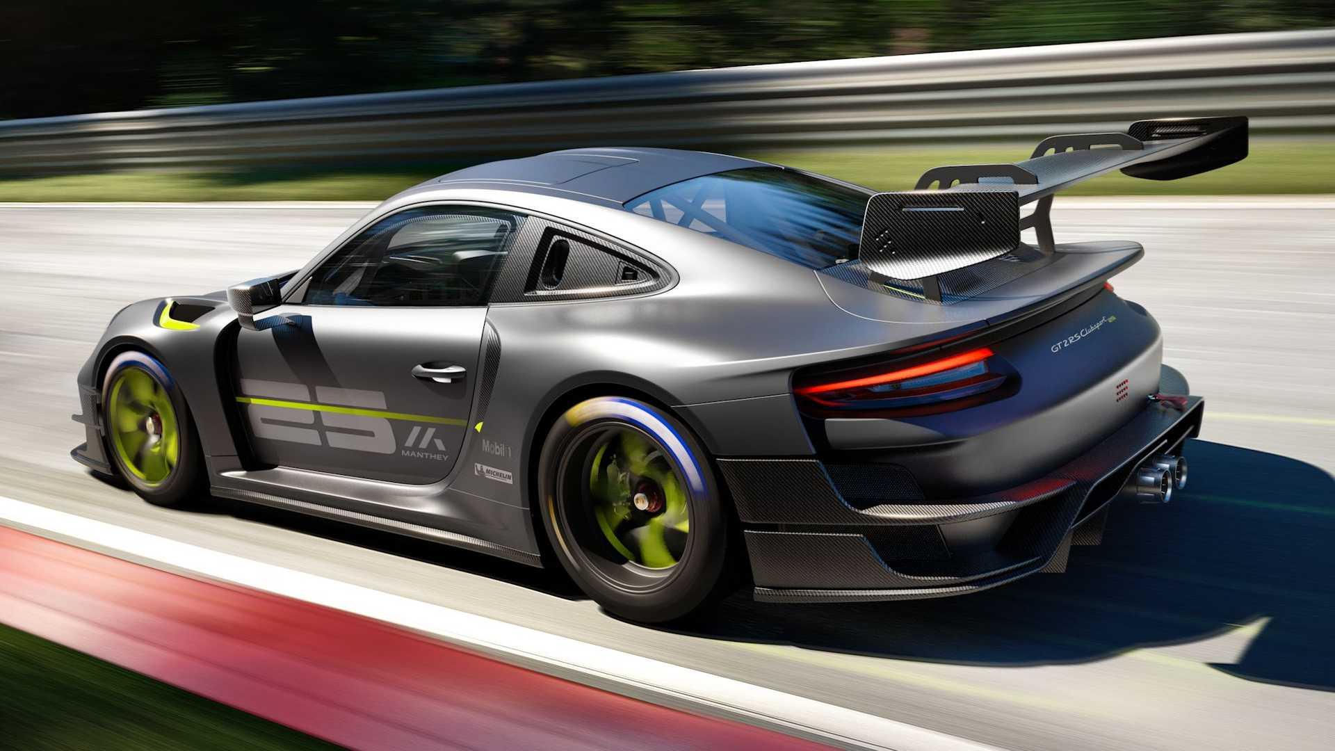 El Porsche 911 GT2 RS Clubsport 25 eroga 700 CV de potencia