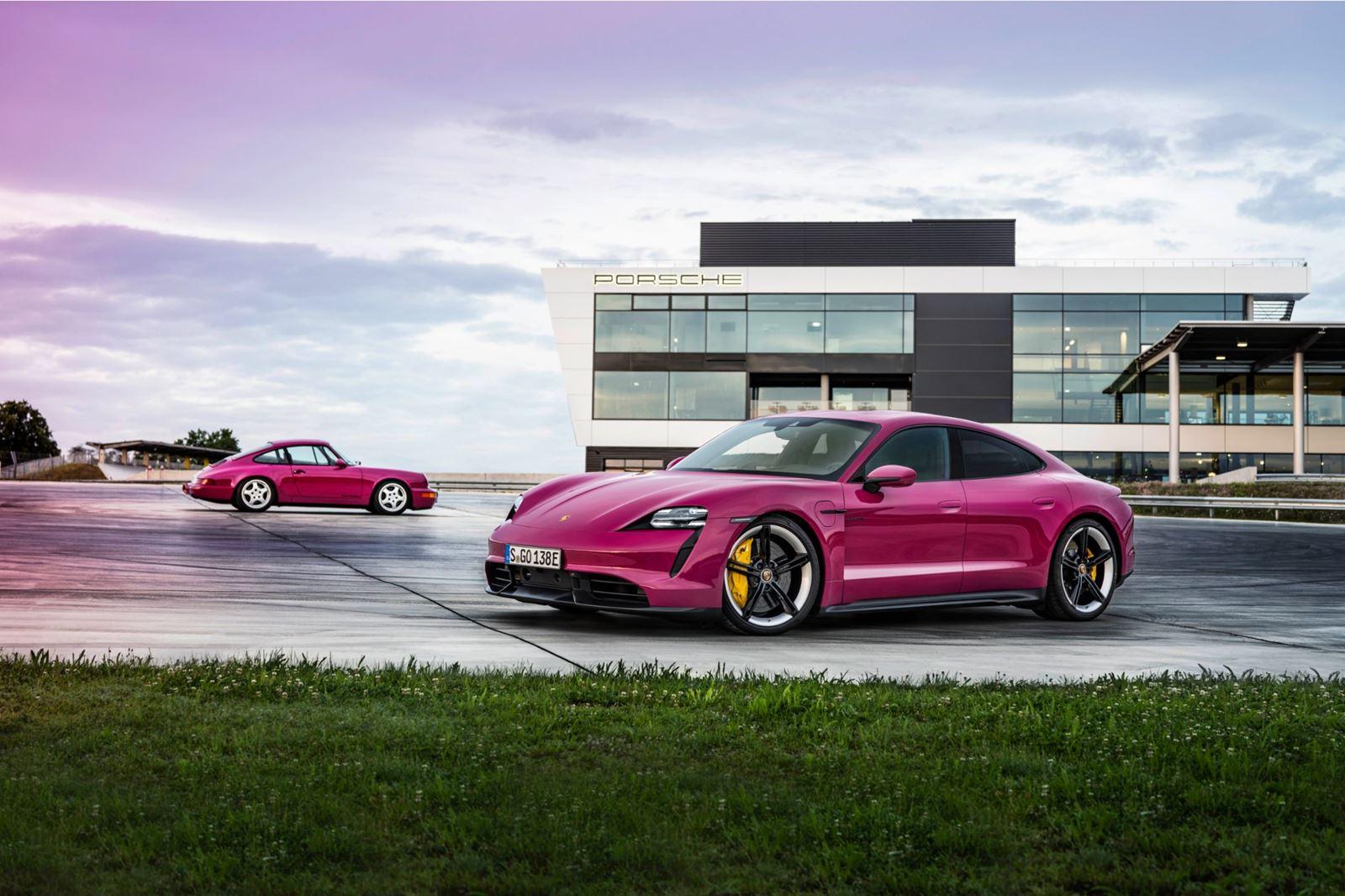 Actualización Porsche Taycan