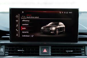 Modos de conducción Audi S4 Avant