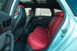 Plazas traseras Audi S4 Avant