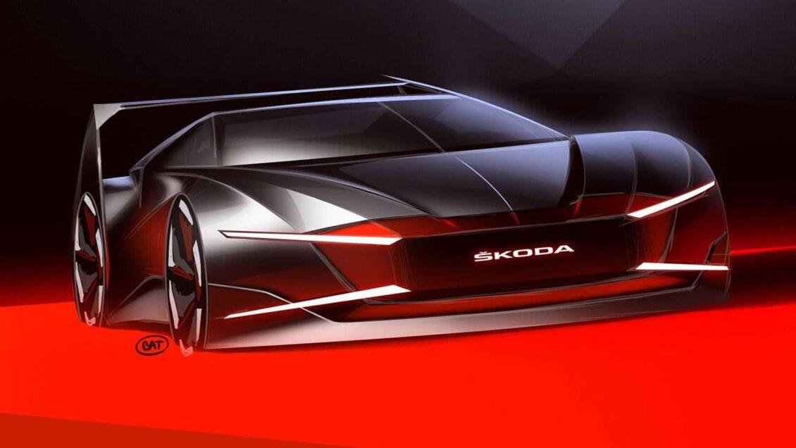 ¿Qué hace Škoda creando este diseño tan deportivo?