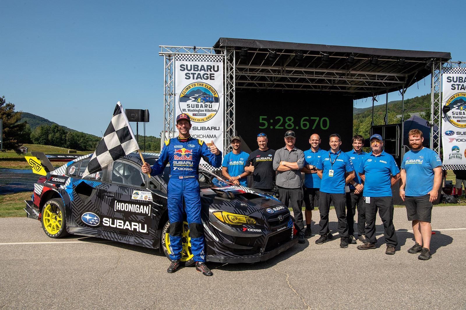 Subaru WRX STI récord
