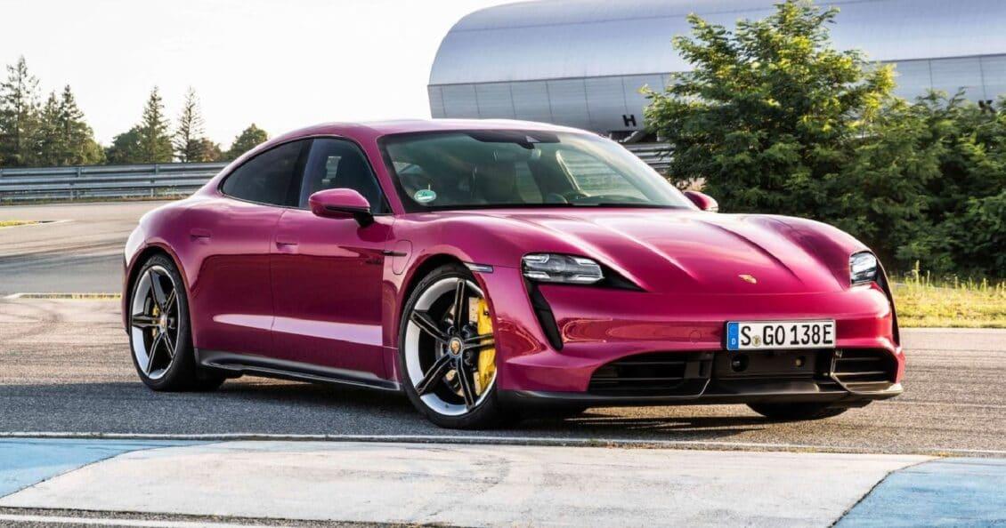 Porsche actualiza el Taycan con colores de los años 90 y mucho más